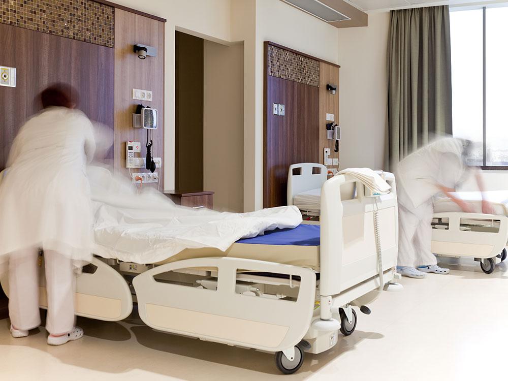 Прачечная для больниц, медицинских центров, клиник и поликлиник, стирка медицинского белья в СПб
